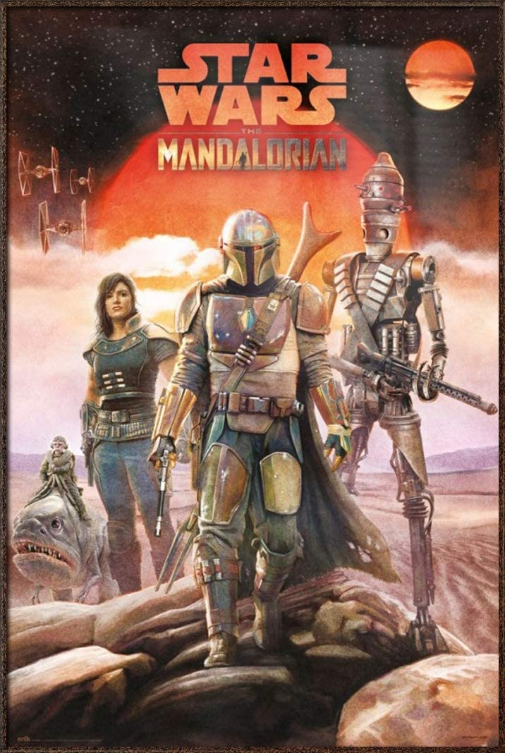 Amazon Com Star Wars The Mandalorian Tv Show Poster The Crew Size 24 X 36 Inches Posters Prints