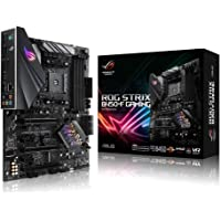 ROG STRIX B450-F Gaming AMD AM4 ATX Gaming Motherboard, DDR4, SATA 6Gbps, HDMI 2.0, dual NVMe M.2, USB 3.1 Gen 2, Aura…