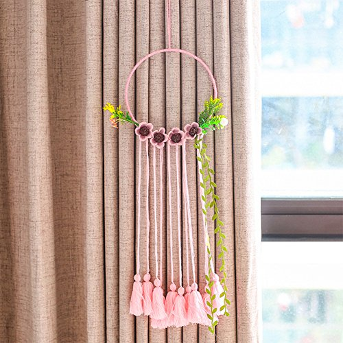 Large Tassels Home Decor: Yunhigh Dream Catcher Floral Long Large Tassel Wall