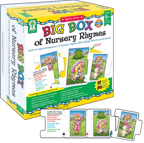 Big Box of Nursery Rhymes Educational Board Game - Little Boy Blue Nursery Rhyme Costume