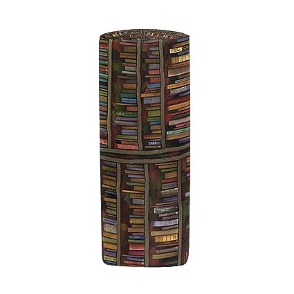 Estuche portatodo cilíndrico para biblioteca, libros ...