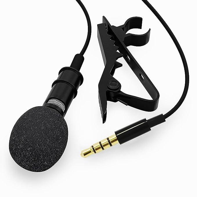 8 opinioni per BeiLan Lavalier Risvolto Clip-on Microfono a condensatore omnidirezionale Mini