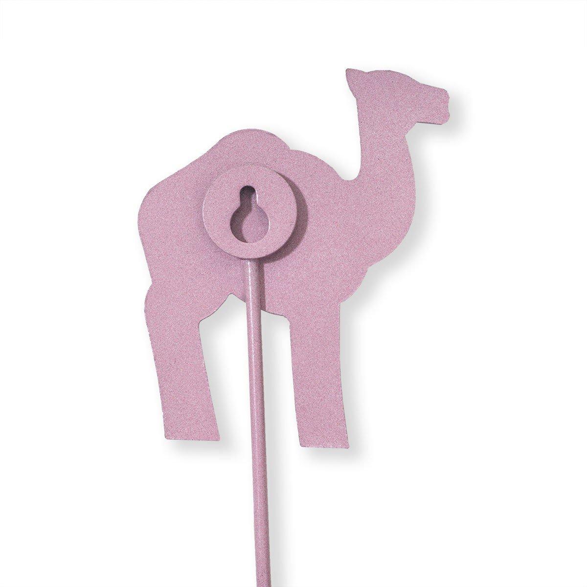 LA Perchero Gancho Pared Camello Rosa (Ropa): Amazon.es: Hogar