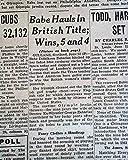 BABE ZAHARIAS 1st American Woman to WIN British