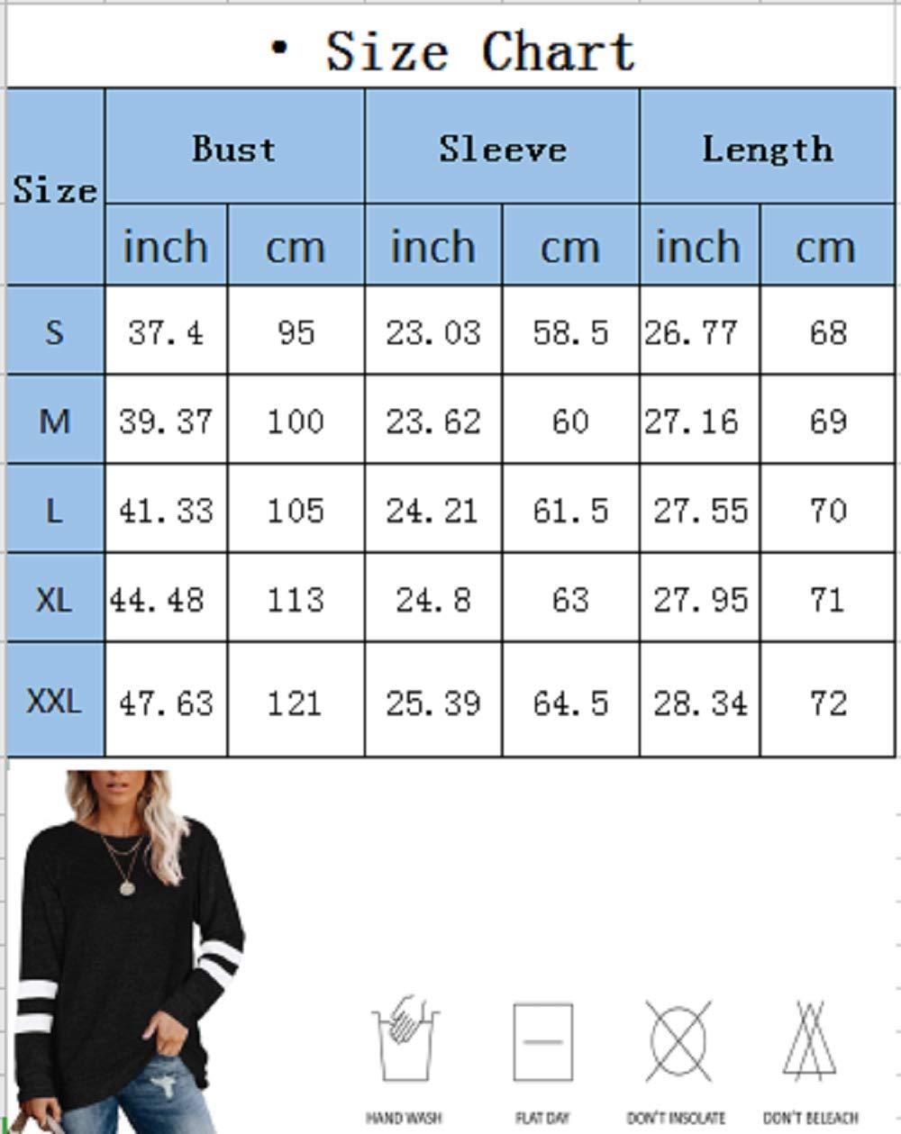 Flying Rabbit långärmad t-shirt för kvinnor, sweatshirt, pullover, randig, lapptäcke, rund hals, blus, färgblock, sweatshirt Deep Grey W