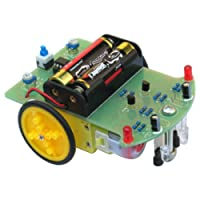 HALJIA Tracking Robot Car Electronic DIY Kit With Gear Motor