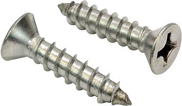 Wood Screws #10 X 2 Oval Phillips Drive 50 pcs Brass