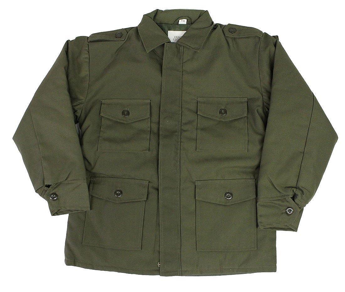 Top Gun Big Boys' Combat Army Clothing Uniform Camo Cadet Jacket