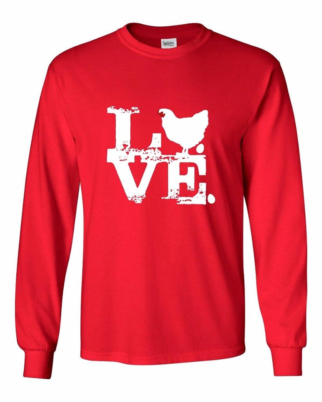 Love Chicken - Men's Long Sleeve T-Shirt