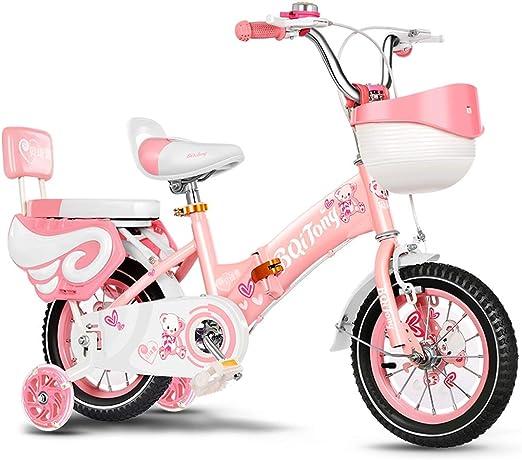 Bicicleta portátil plegable para niños, bicicletas para niños ...