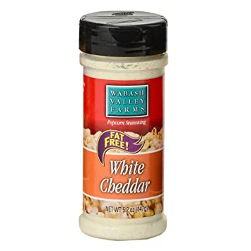 Wabash Valley Farms Popcorn Seasoning, White Cheddar Cheese - Great for Pasta, Vegetables,
