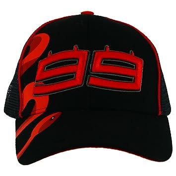 Jorge Lorenzo 99 Moto GP Trucker Negro Baseball Gorra Oficial 2018