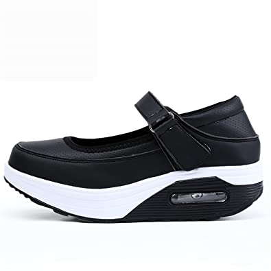 Feilongzaitianba Shoes Women Casual Shoes Fashion Low Top Platform Shoes zapatillas mujer Breathable Women Trainers Black