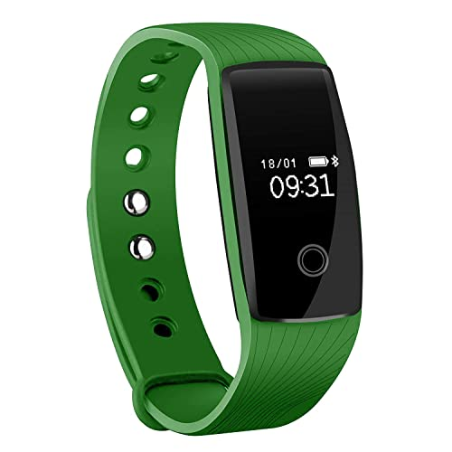 Fitness Tracker, Mpow Heart Rate Monitor Smart Bracelet Activity Tracker Bluetooth Pedometer with Sleep Monitor Smartwatch for iPhone 7 7 Plus 6 Samsung S8 and Other Android or iOS Smartphones