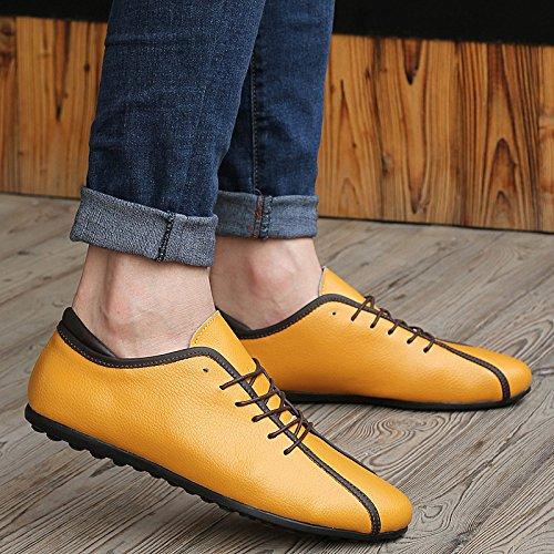 Salabobo - zapatilla baja hombre amarillo