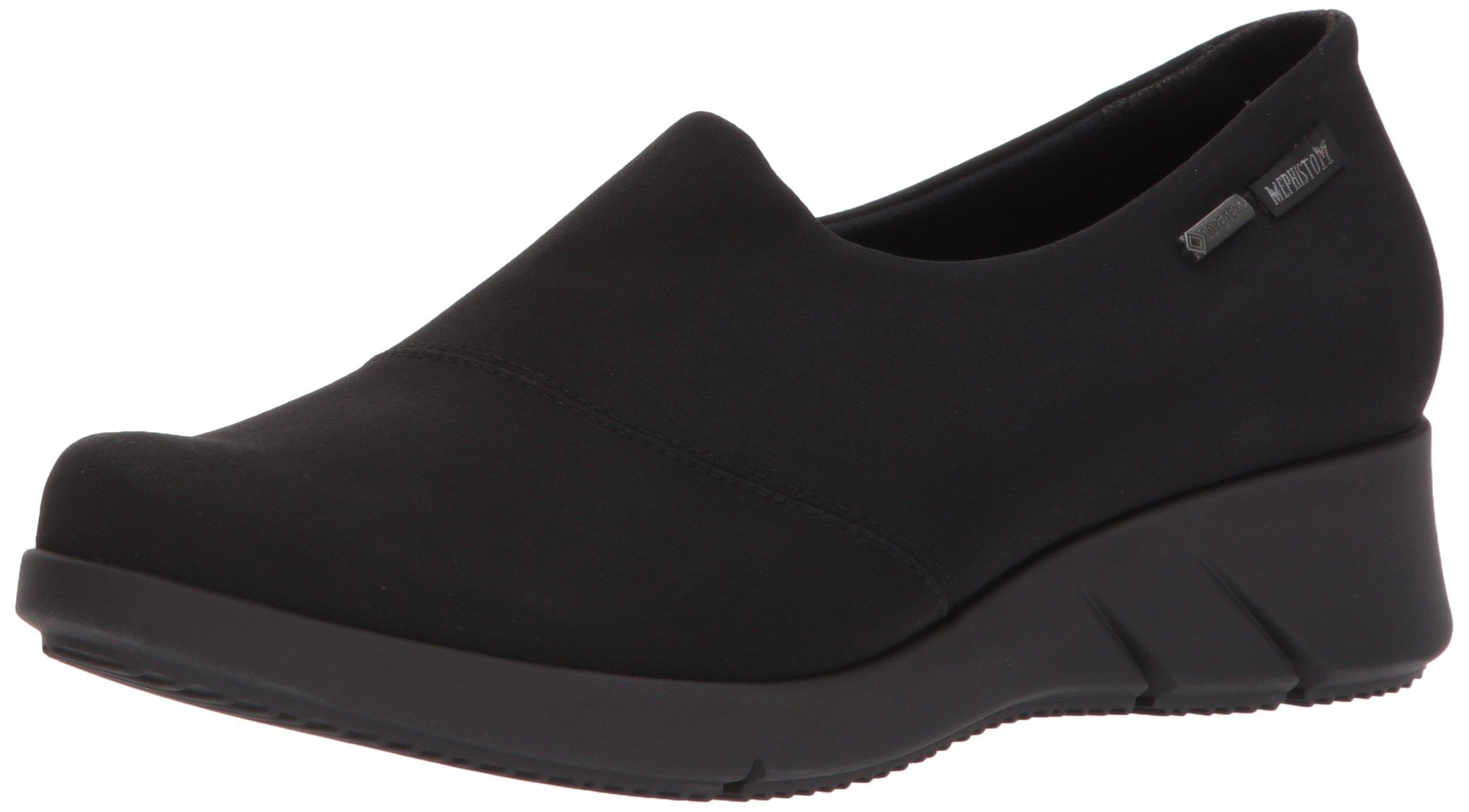 Mephisto Women's Molly Gt Rain Shoe, Black Stretch, 6 M US