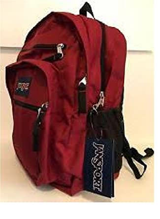 7d4f524c40cf Jansport t Big Student Viking Red Backpack  Amazon.co.uk  Clothing