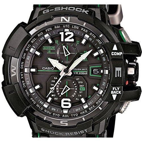 A1100 Bracelet Noir 1a3er Digitale Résine Casio Gw Montre Radiosolaireboussolealarme Homme Quartz 0wOPZN8nkX