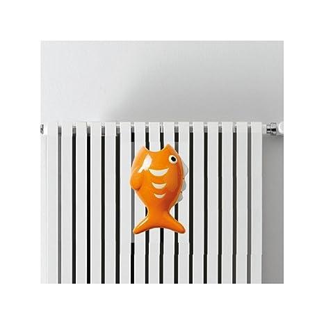 Ducomi® fisheat – Humidificador de cerámica Durevole y resistente para radiadores, estufas y Radiador