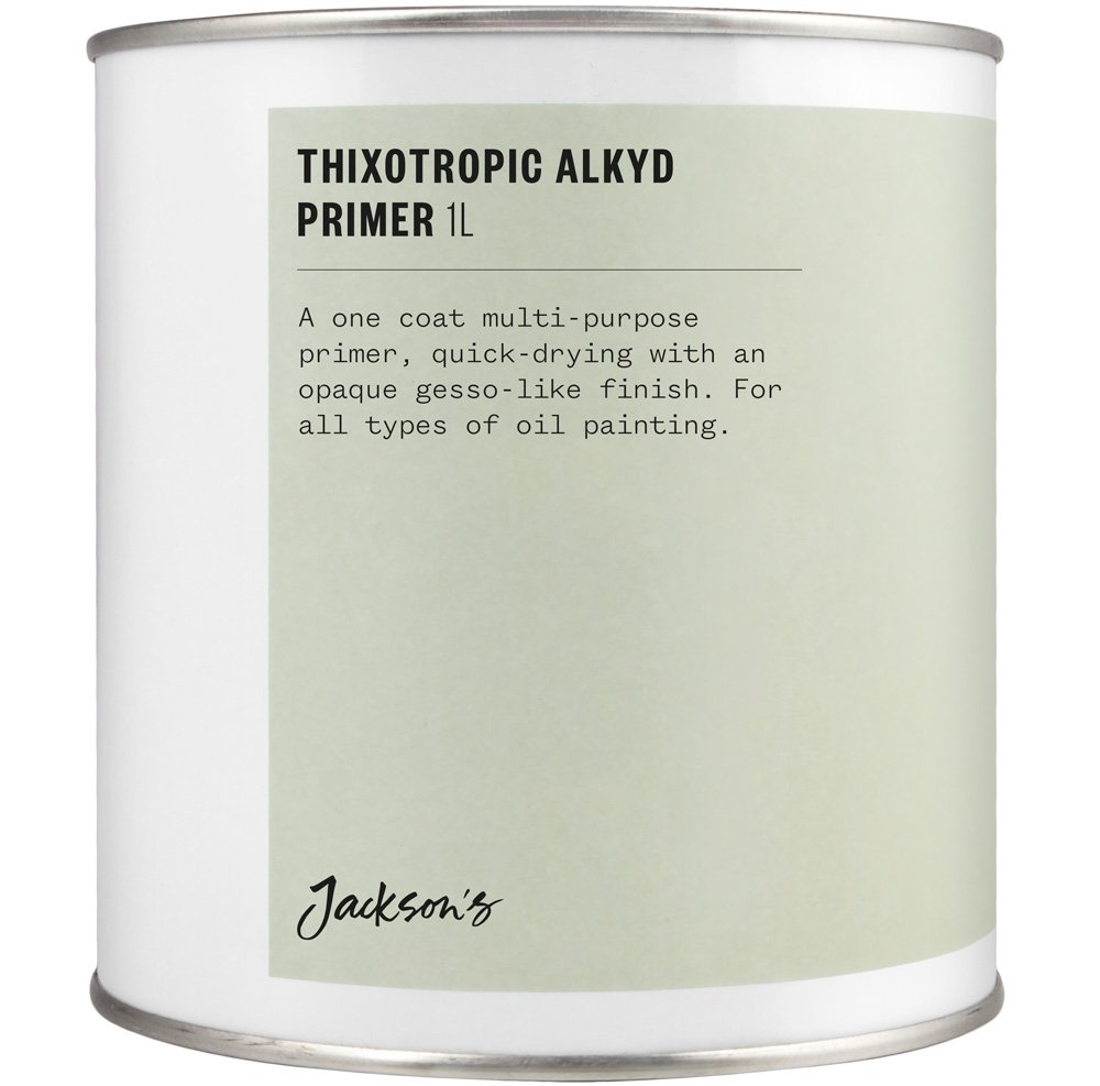 Jackson's : Thixotropic Alkyd Oil Primer : 1 litre : By Road Parcel Only