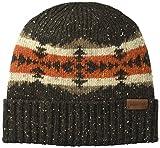 Pendleton Men's Cozie Winter Knit Beanie, Hawkeye Brown, One Size