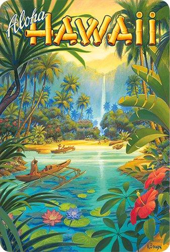 Hawaii Scrapbook Die Cut (Hawaiian Vintage Postcards Pack of 30 - Aloha from Hawaii (CS87v4) by Kerne Erickson)