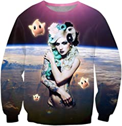 ZURIC Paul Ribera 3D printed Sweatshirt Woman Hoodie Pullovers Clothing