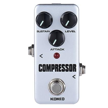 ammoon kokko Guitarra Pedal de Efectos fcp2 Mini Compresor Portable Pedal