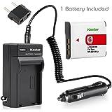 Battery+Charger for Sony CyberShot DSC-W130 DSC-W150 DSC-W170 DSC-W210 DSC-W220 DSC-W230 DSC-W290
