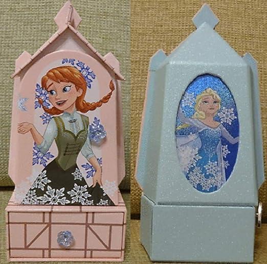 musical Caja de Joyas de Elsa Anna de Frozen de Disney: Amazon.es ...