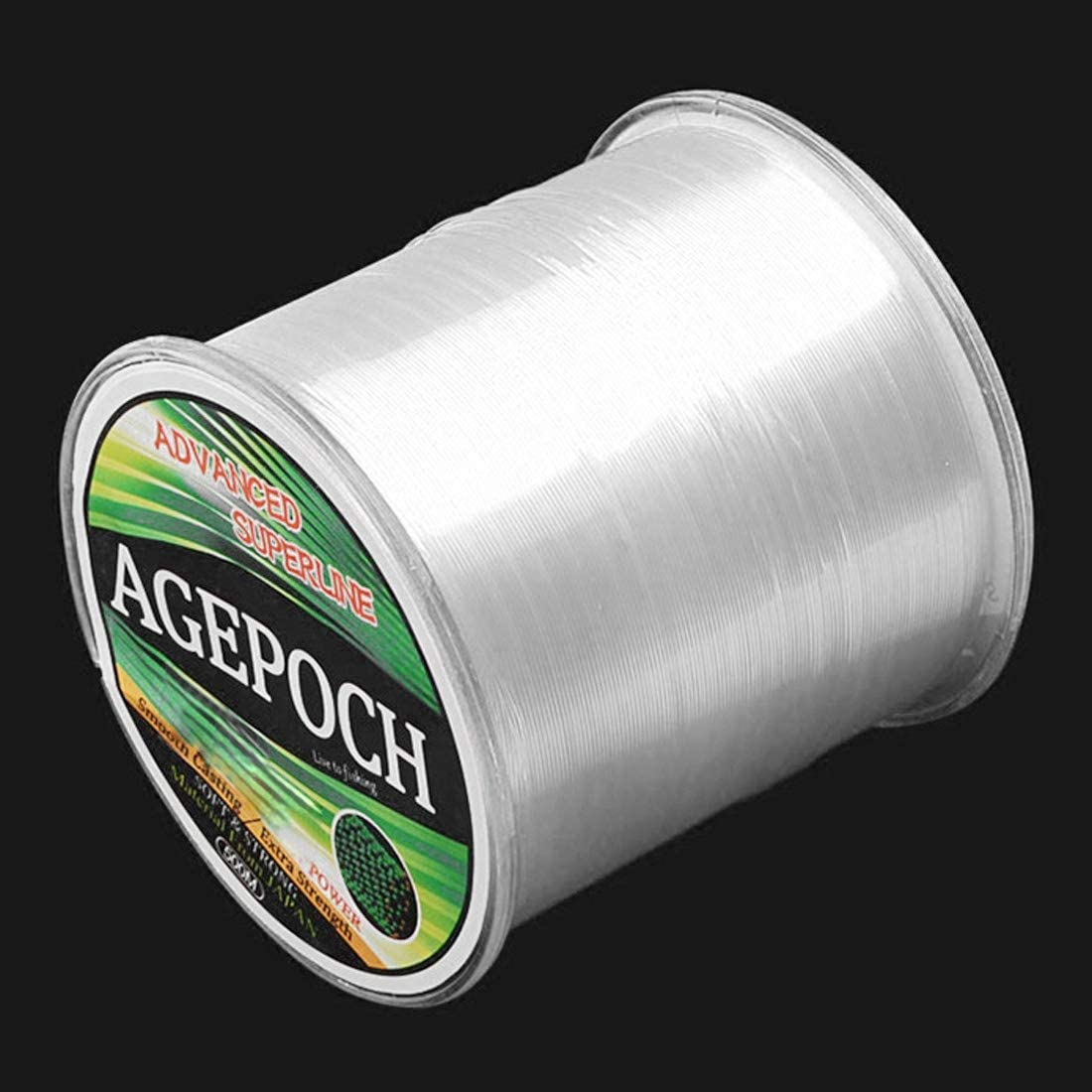 10,2 kg Tension 500m Extra Strong Imported Rohseide//NylonFishing Line WXK Angelleine Linie Angeln Grass Gelb // 4.0# 0.32mm