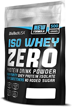 BioTech Whey Zero Lactose Free Proteínas Sabor Piña y Mango - 500 gr