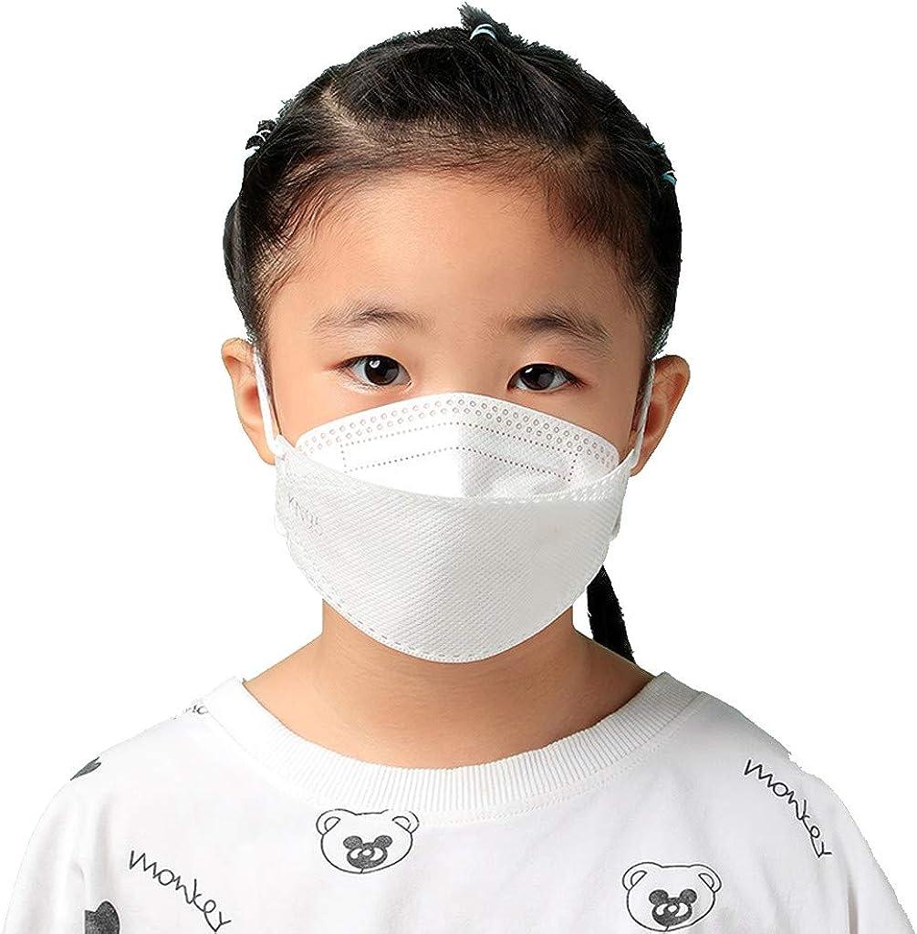 5 Ply goodjinHH 1//5//20PCS Disposable Face Bandanas for Kids Anti Dust Haze Saliva Children Outdoor Face Protection