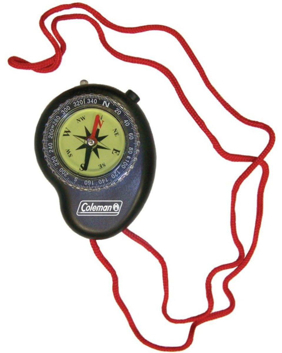 3. Coleman Compass with LED Light