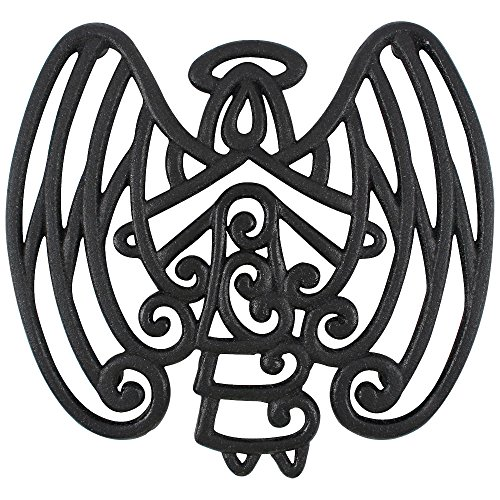 Cara's Casa Angel Trivet - Cast Iron - for Kitchen and Dinin