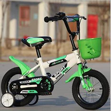 HUALQ Bicicleta para Niños Bicicleta 14-16-18 Pulgadas Hombres y Mujeres Cochecito de
