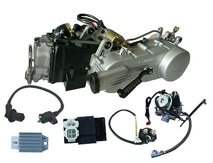 Motrocycle Engine GY6 Engine Long Case 150cc 4-Stroke Electric Start