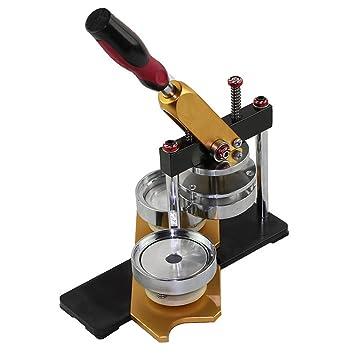 zinnor Heavy Duty 58 mm Botón Insignia/eléctrica Panificadora DIY Semi Manual Semi mecánica producción