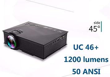 FANGLING-projectors HD Nueva actualización UC68 Multimedia Home ...