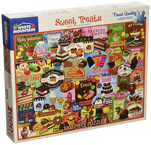 White Mountain Puzzles Sweet Treats Jigsaw Puzzle, Multicolor