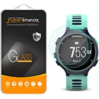 (2 Pack) Supershieldz for Garmin Forerunner 735XT Tempered Glass Screen Protector, Anti Scratch, Bubble Free