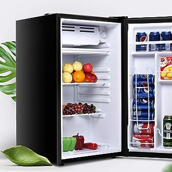 Safeplus EP22680-BK Compact Refrigerator