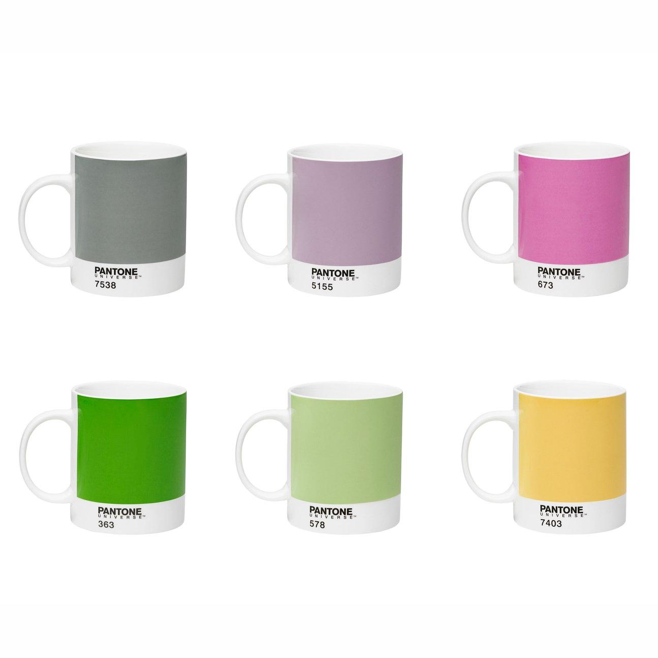 Pantone Universe Mixed Mug Set 3