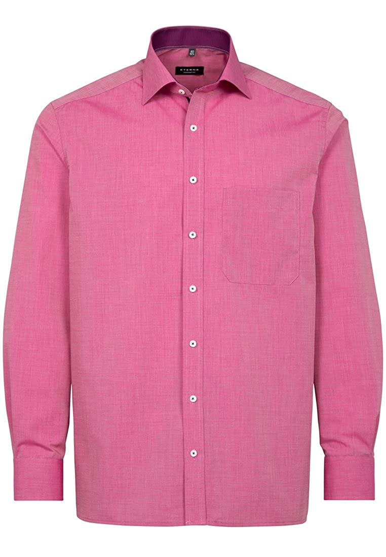 Eterna long sleeve Shirt MODERN FIT Fil à Fil uni