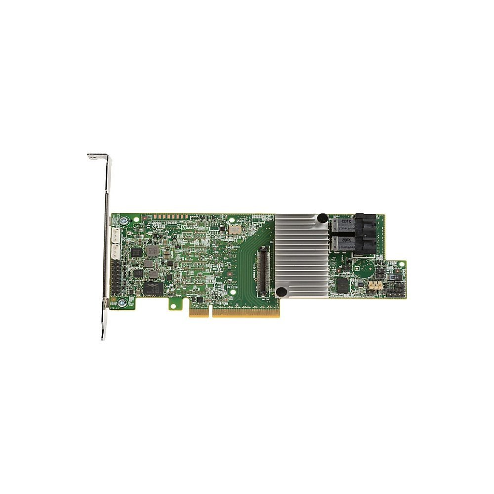 LSI Logic I/O Controller 05-25420-08 MegaRAID 9361-8i Single 8Port SATA/SAS PCI-Express 3 1GB DDR3 Brown Box
