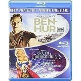 Ben-Hur/ Ten Commandments (DBFE) [Blu-ray] (Bilingual)