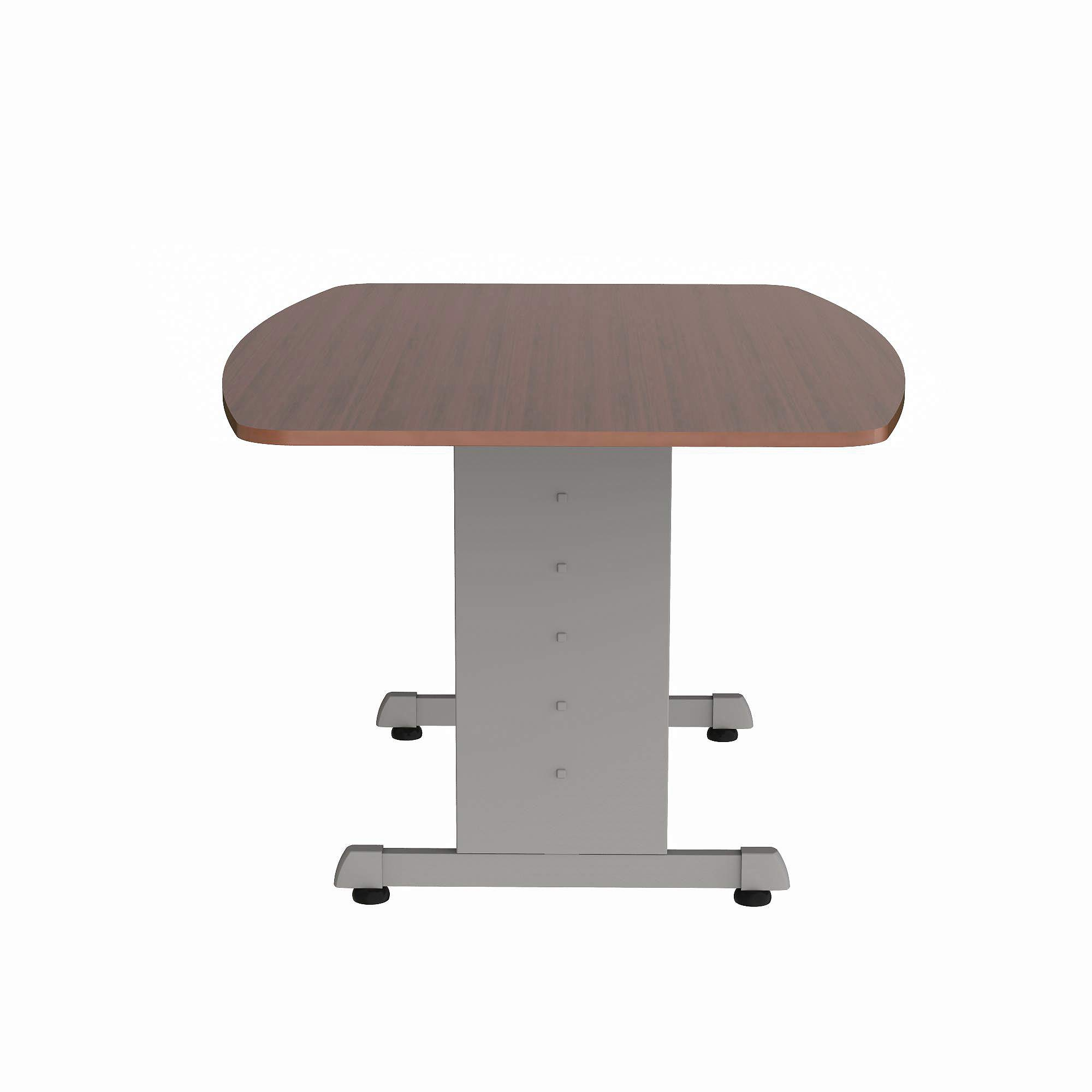 Linea Italia 60''x40'' Office Conference Table, Cherry Laminate, Seats 6, Conference Room Funature, No Tool Simple Fast Assembly (ZUC118) by Linea Italia
