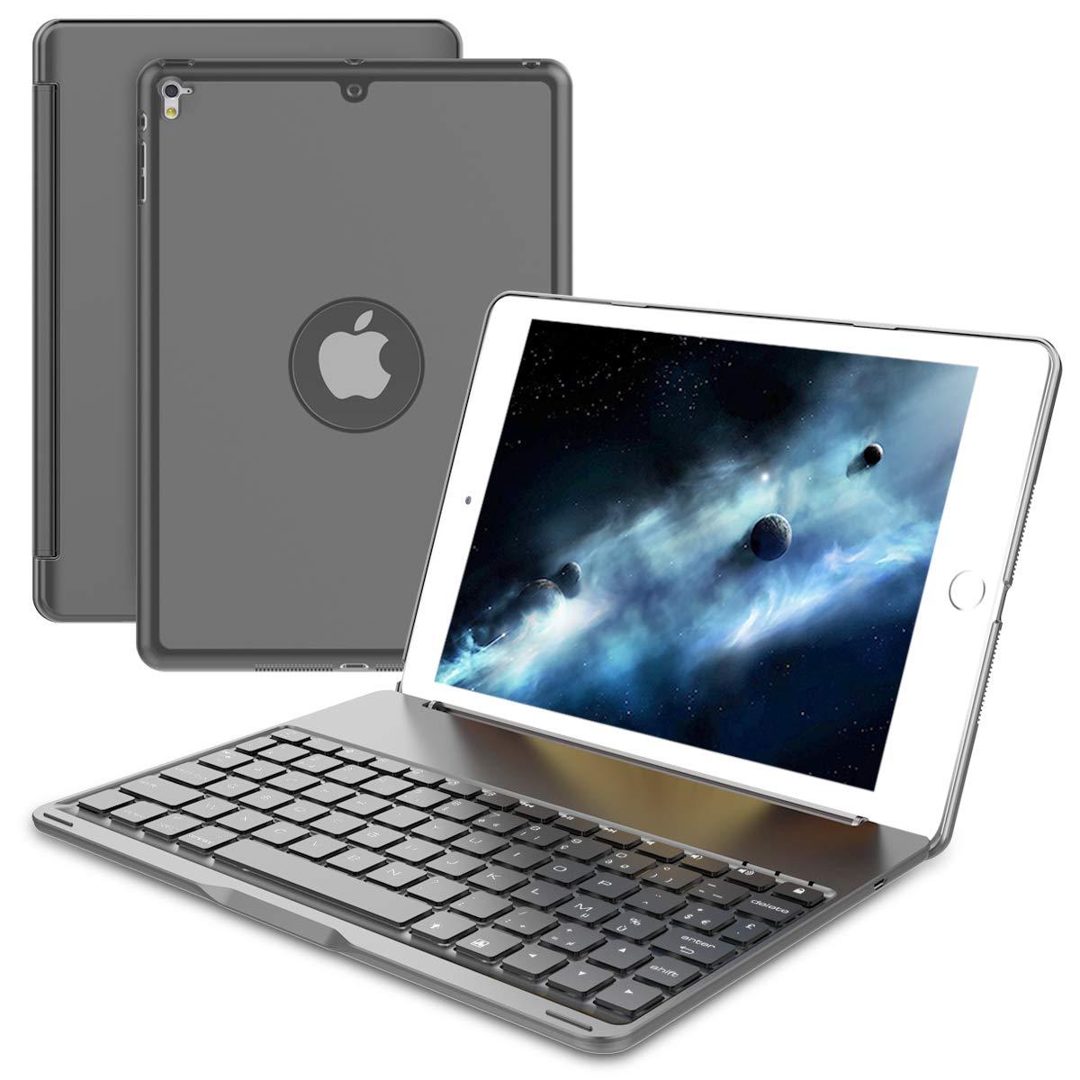 大特価 AICEDA iPad Pro iPad 9.7ケース ディフェンダーカバーケース グレー, バックカバー [傷/ほこり防止] スリムフィットカバー 耐衝撃 耐衝撃 頑丈 フルボディ保護カバー iPad Pro 9.7対応 - グレー, グレー, HOF7-K7-706 グレー B07L3THKKG, Luminous-club:d898fbd3 --- a0267596.xsph.ru
