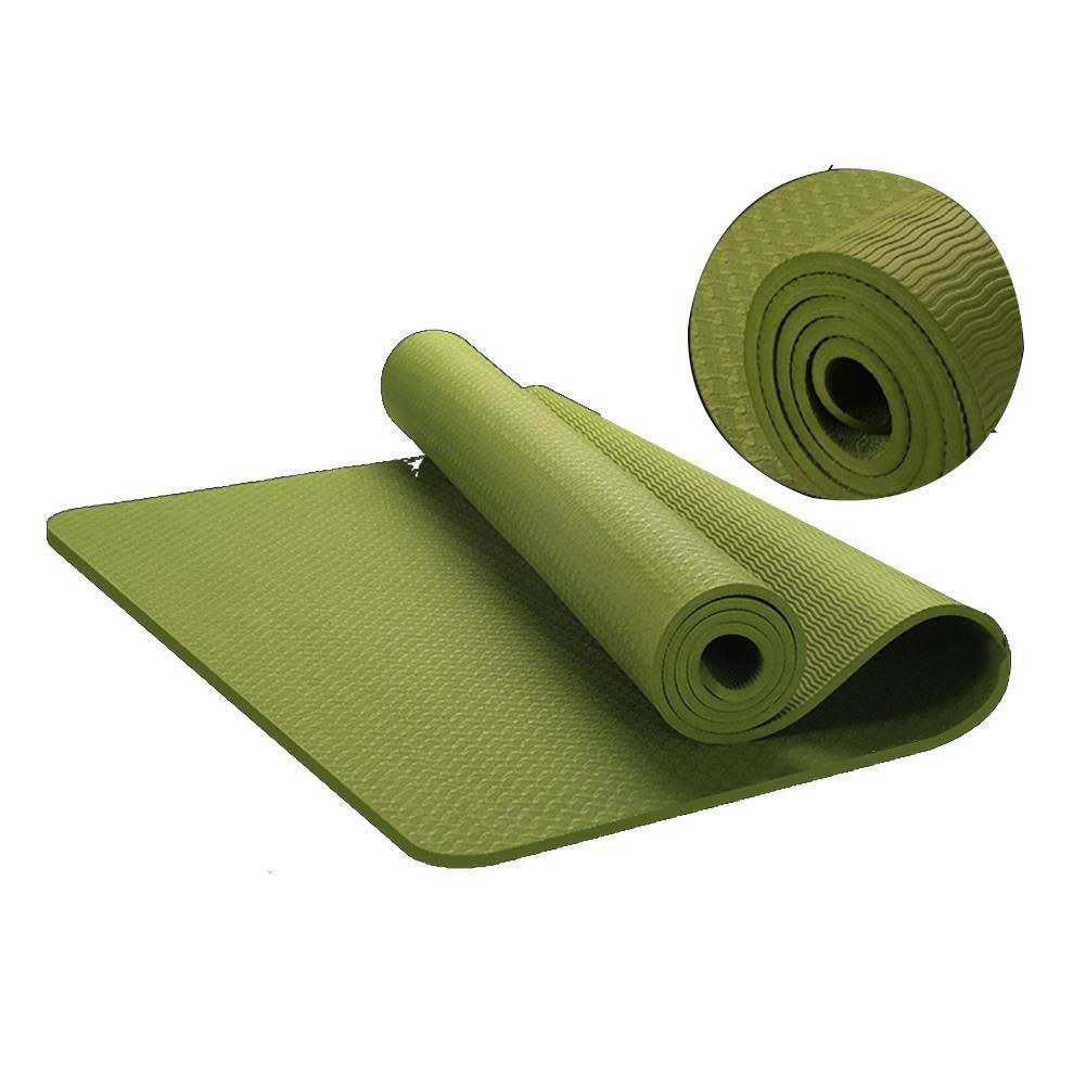 Lmzyan TPE 8mm Anfänger Non-Slip Sport Fitness Yoga Mat