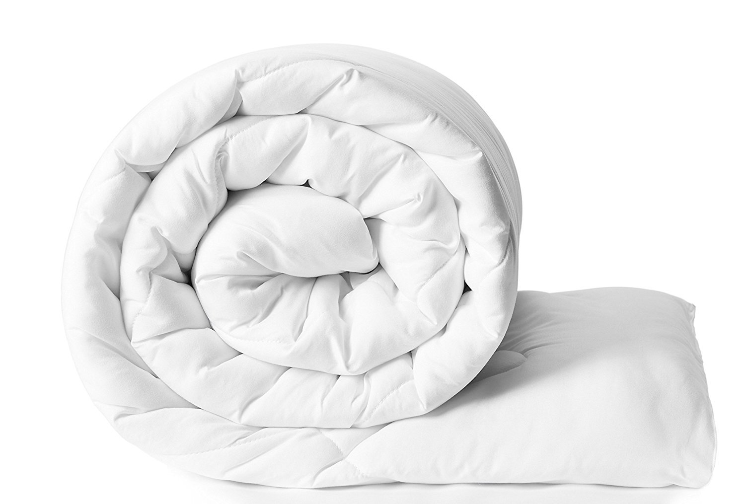 Clasiko Reversible Double Bed King Size Comforter/Duvet for Winters; Color - Pearl White; Fabric - Micro Cotton; 300 GSM; Size - 230x254 Cms; Color Fastness Guarantee (B0827ZJCYF) Amazon Price History, Amazon Price Tracker